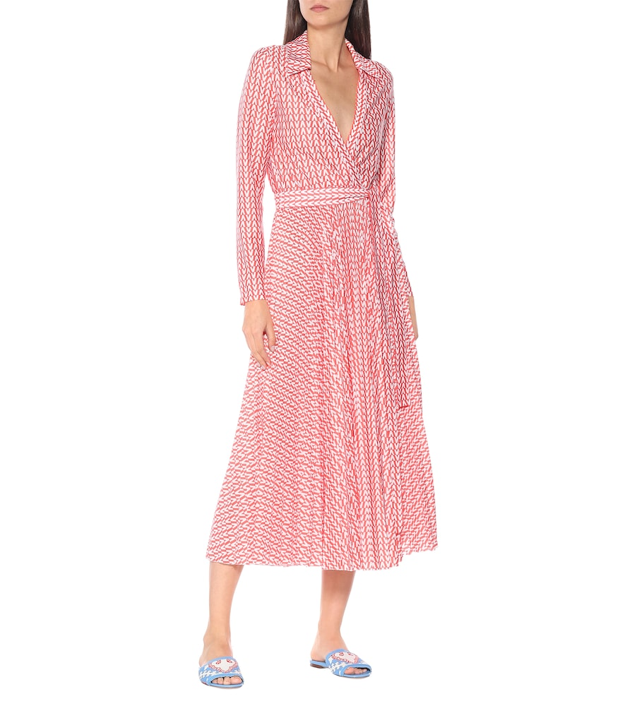 Exclusive to Mytheresa - Printed jersey wrap dress by Valentino
