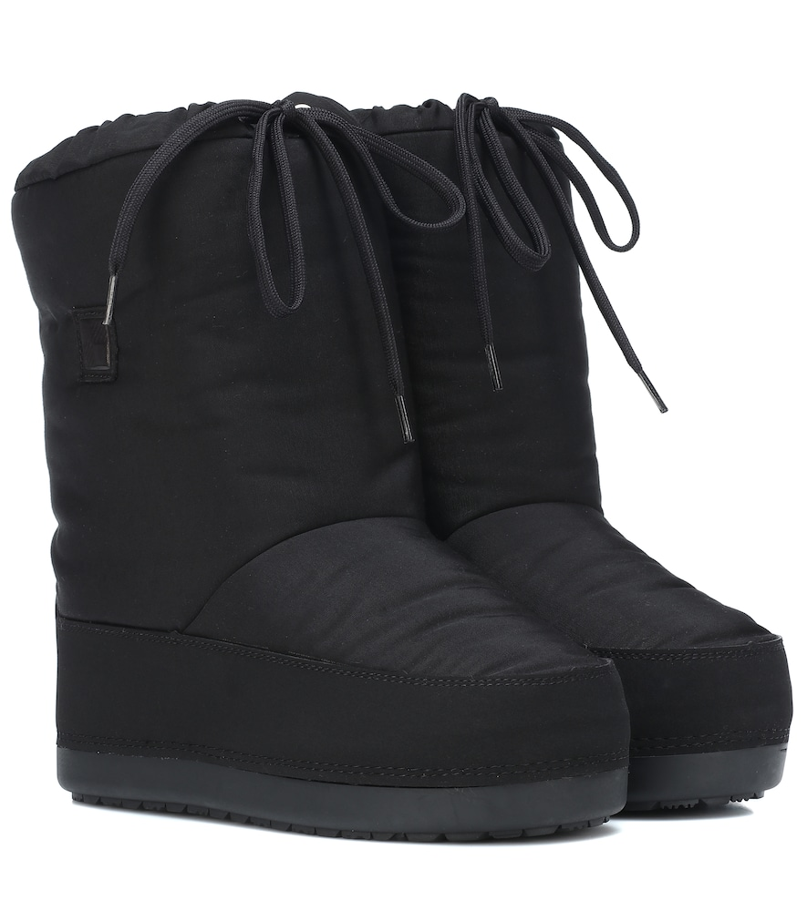 WOOLRICH Arctic Snow Ankle Boots in Black