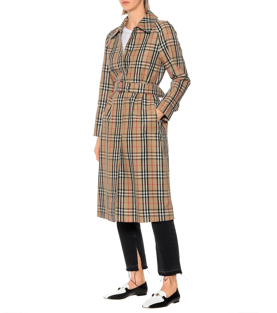 Vintage Check trench coat by Burberry