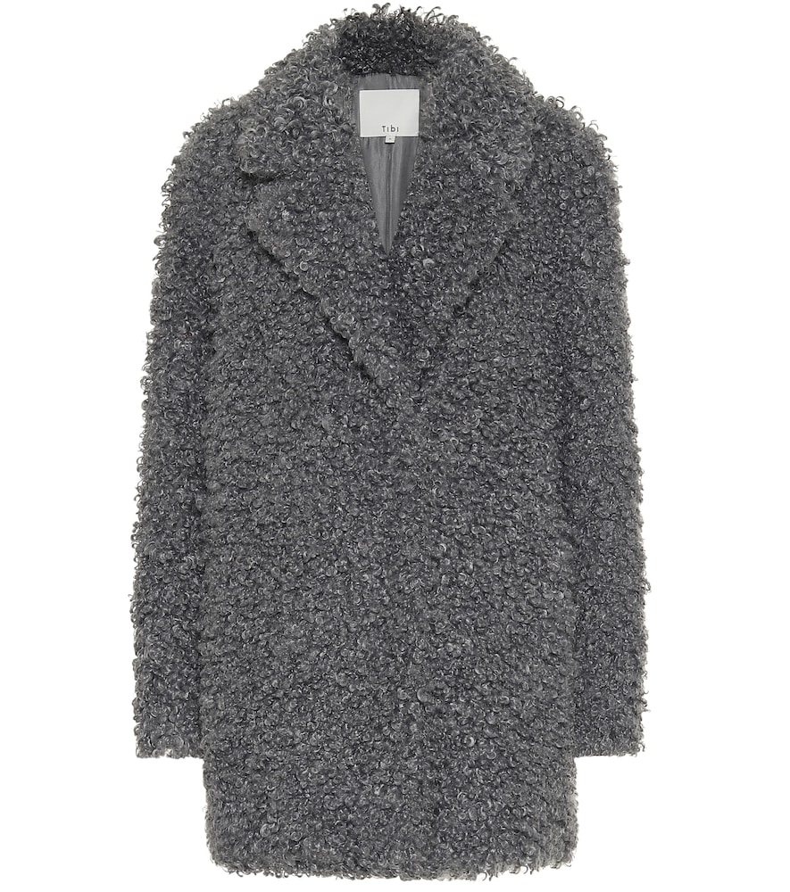 Faux shearling coat by Tibi