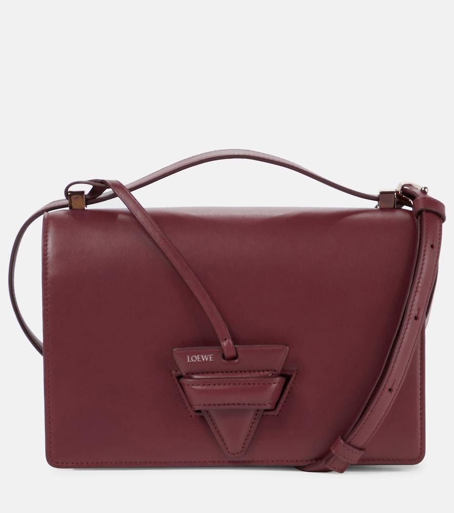 Barcelona leather shoulder bag
