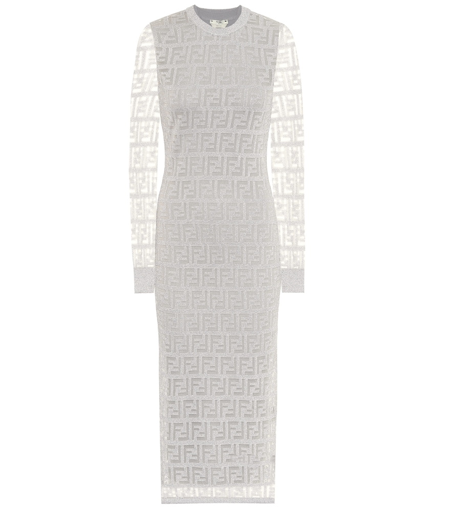 Fendi Dress FF MESH MIDI DRESS