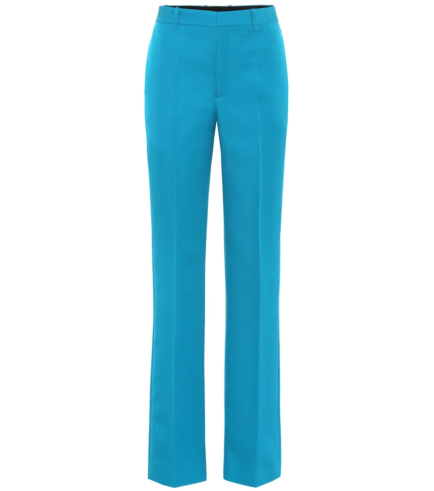 Pantalon droit à taile haute - Balenciaga - Modalova