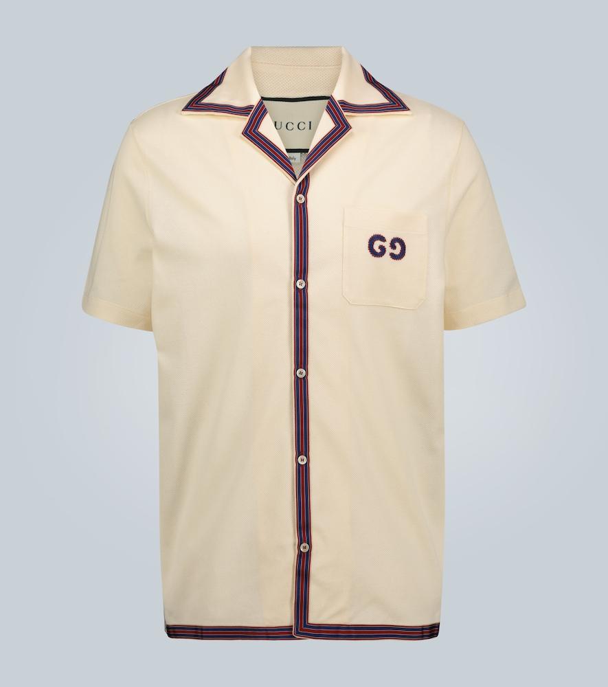 Polo brodé GG - Gucci - Modalova