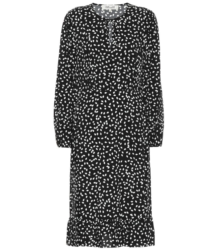 Campbell printed midi dress by Diane von Furstenberg