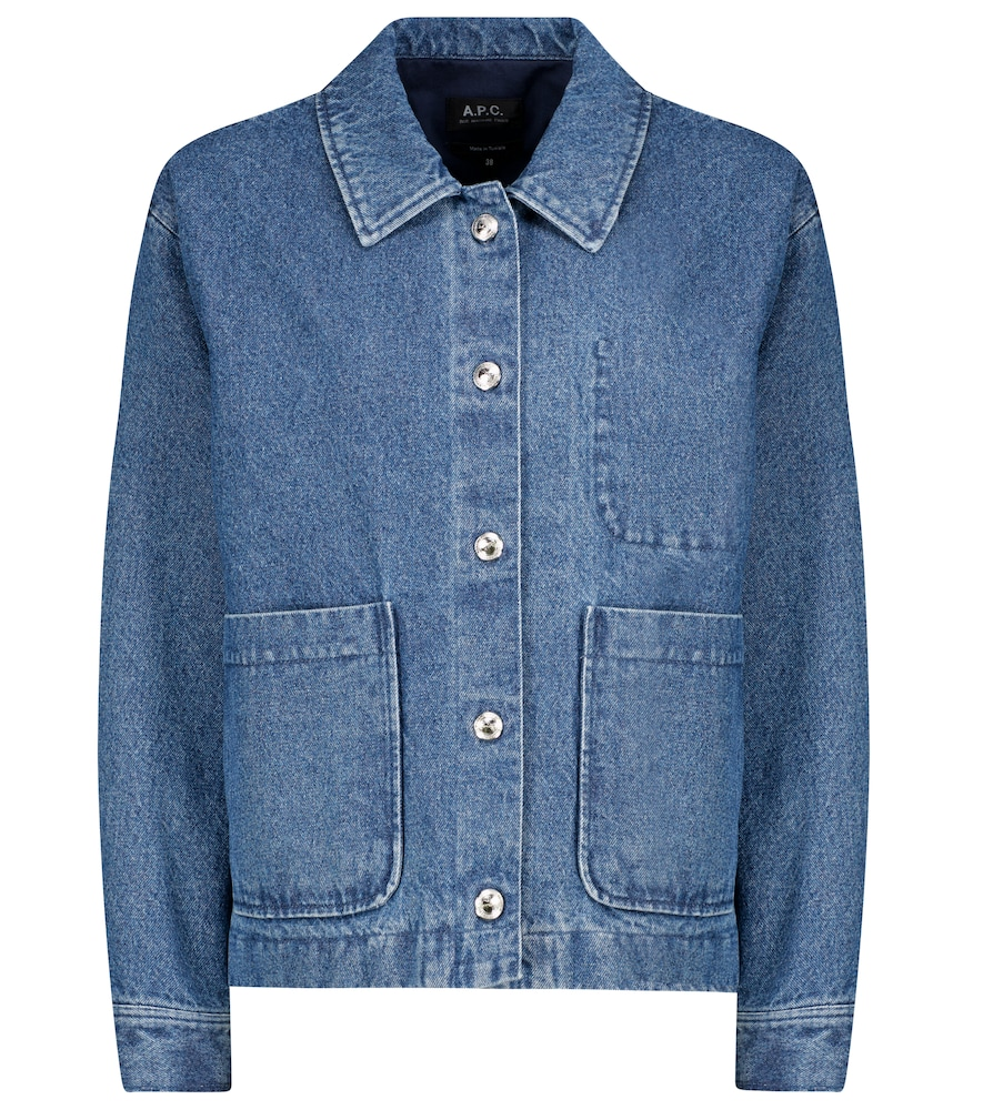 A.p.c. NIKKIE DENIM JACKET