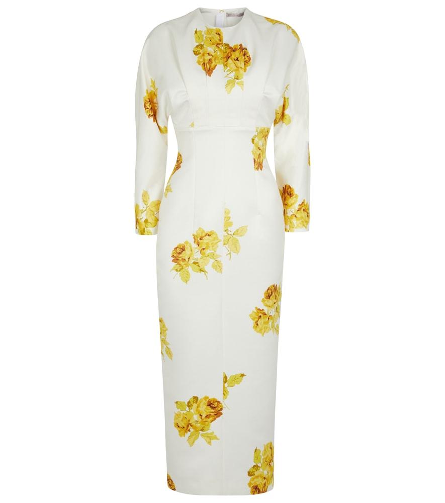 Finley floral midi dress