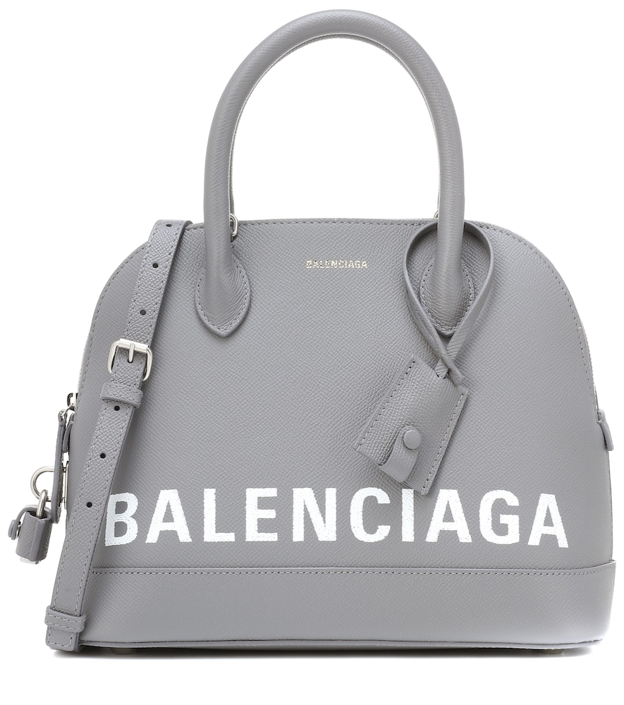 BALENCIAGA VILLE S LEATHER TOTE