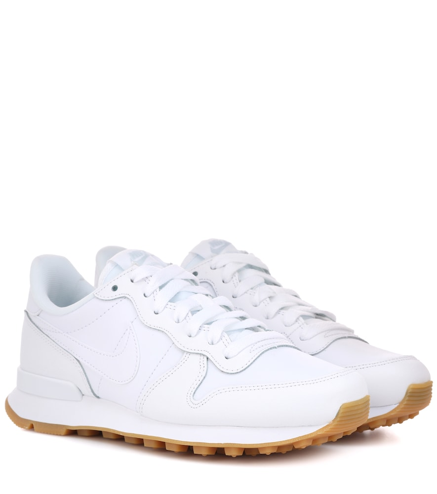 Internationalist Leather Sneakers in White