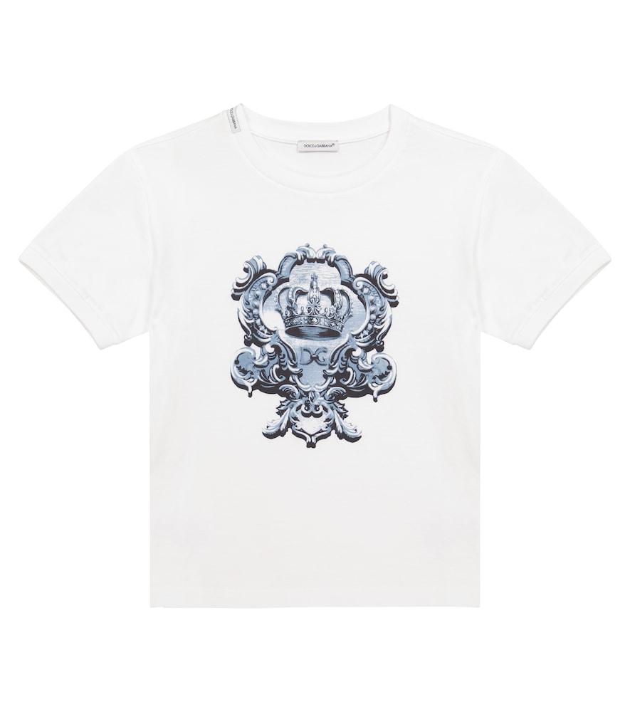 Dolce & Gabbana Cottons COTTON JERSEY T-SHIRT