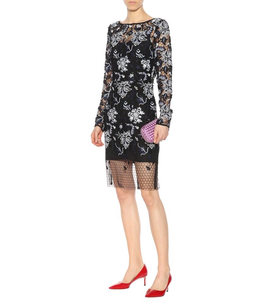 Embroidered lace dress by Diane von Furstenberg