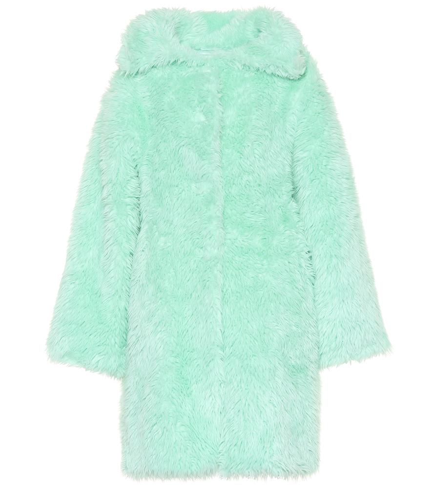 Faux fur coat by Balenciaga