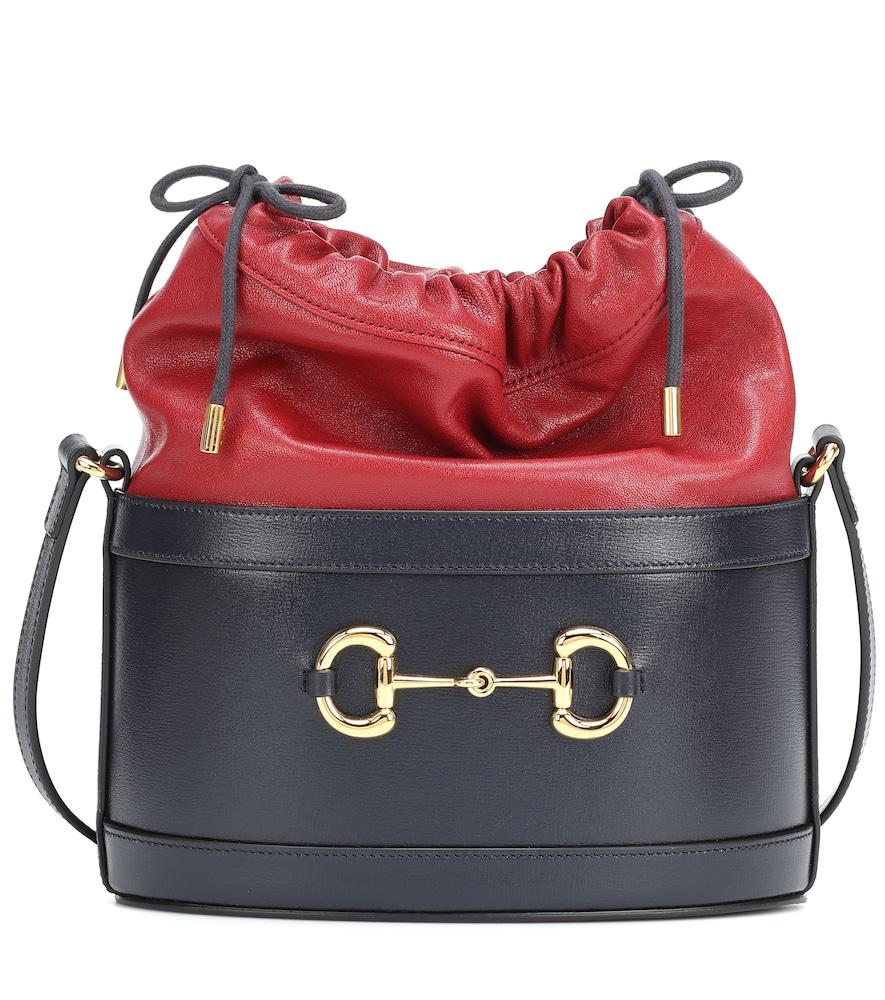 Sac seau 1955 Horsebit en cuir - Gucci - Modalova