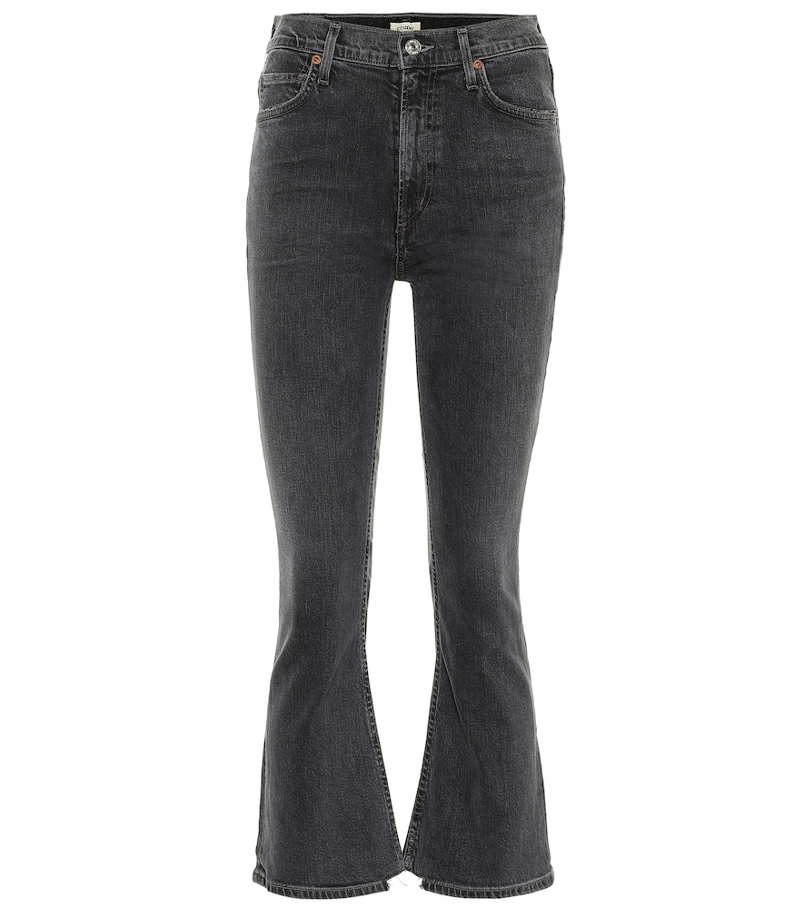 Citizens Of Humanity Downs DEMY HIGH-RISE CROPPED JEANS