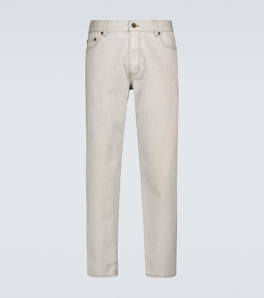 Saint Laurent Jeans STRAIGHT-LEG JEANS