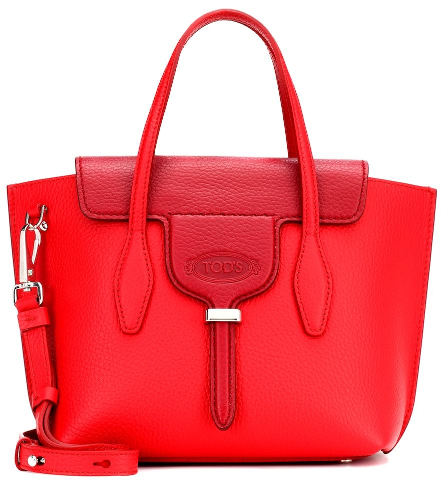 Joy Mini Leather Shoulder Bag, Female