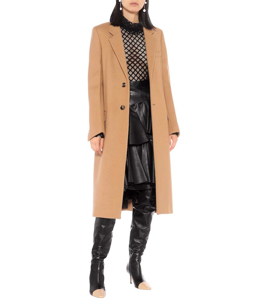 Stefanie over-the-knee leather boots by Gianvito Rossi