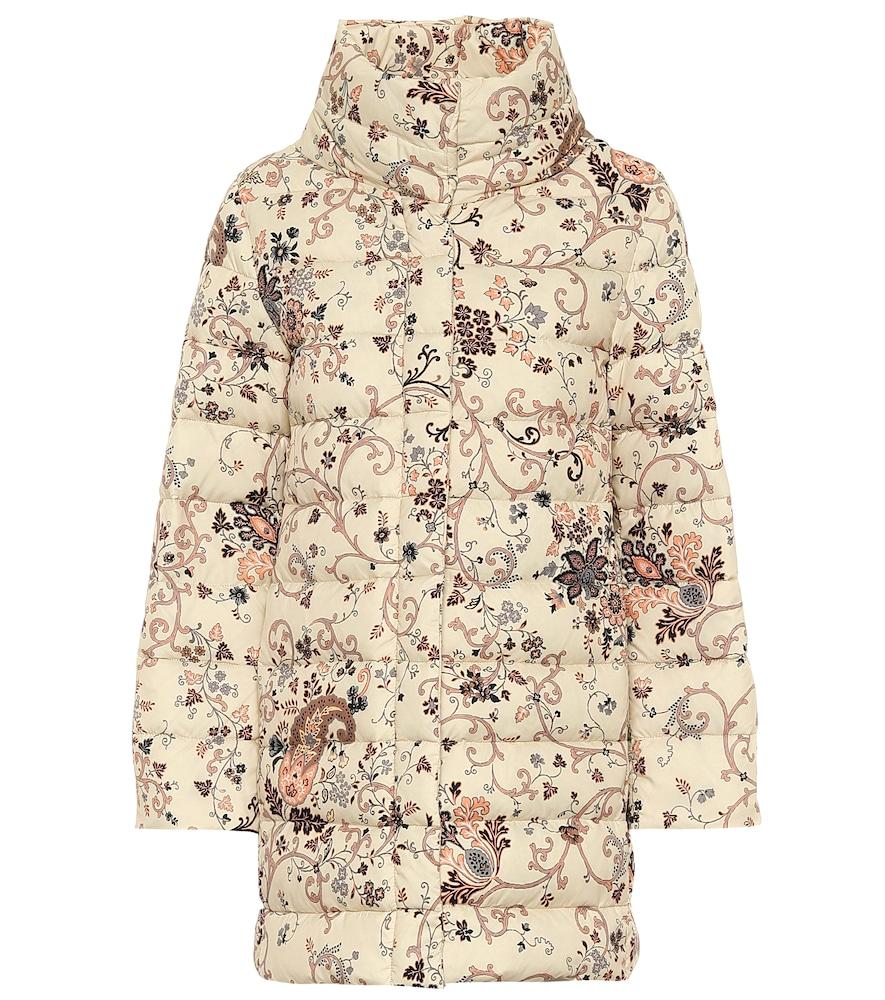 Manteau matelassé imprimé - Etro - Modalova