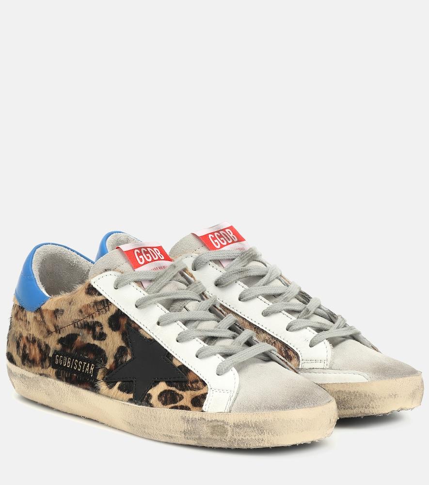 Superstar leopard-print sneakers