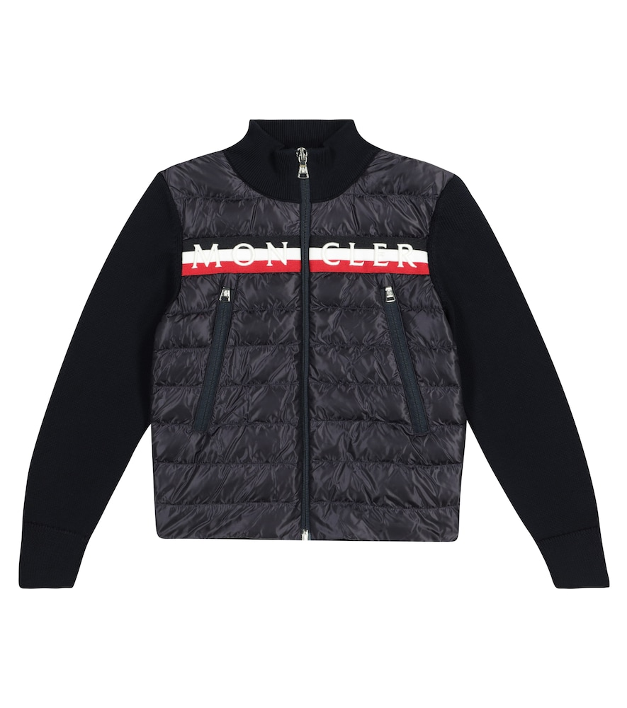 MONCLER Downs LOGO QUILTED DOWN JACKET