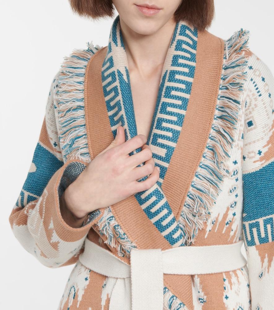 ALANUI Wools REGENERATED BIG DREAM CASHMERE AND WOOL CARDIGAN