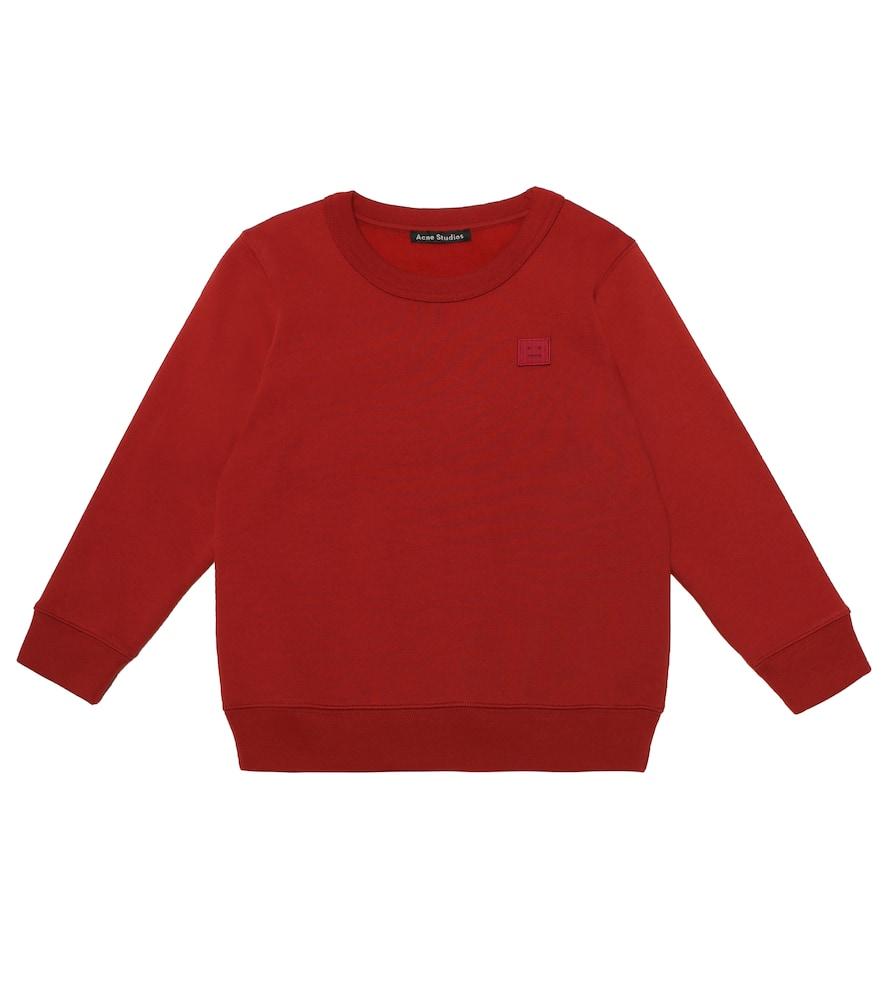 ACNE STUDIOS KIDS | Mini Fairview Face Cotton Sweatshirt | Goxip