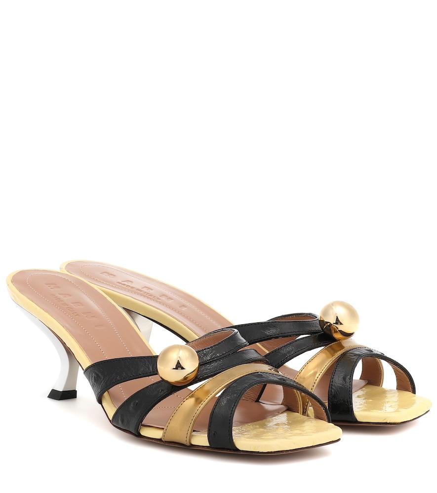 MARNI | Leather sandals | Goxip