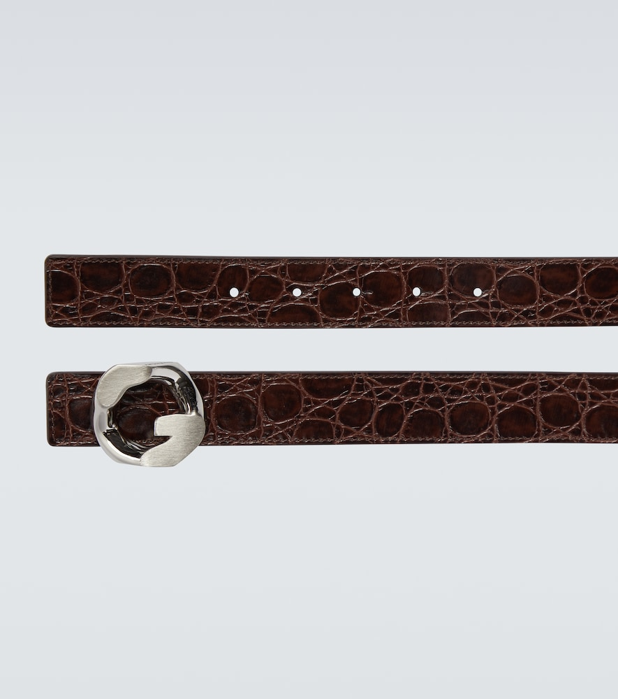 GIVENCHY Belts G CHAIN BUCKLE BELT