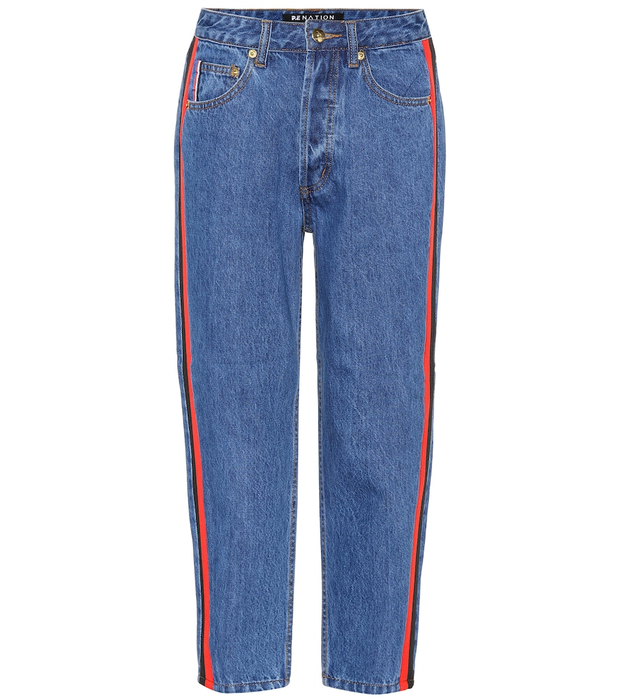 SEASON LIFETIME CROPPED JEANS