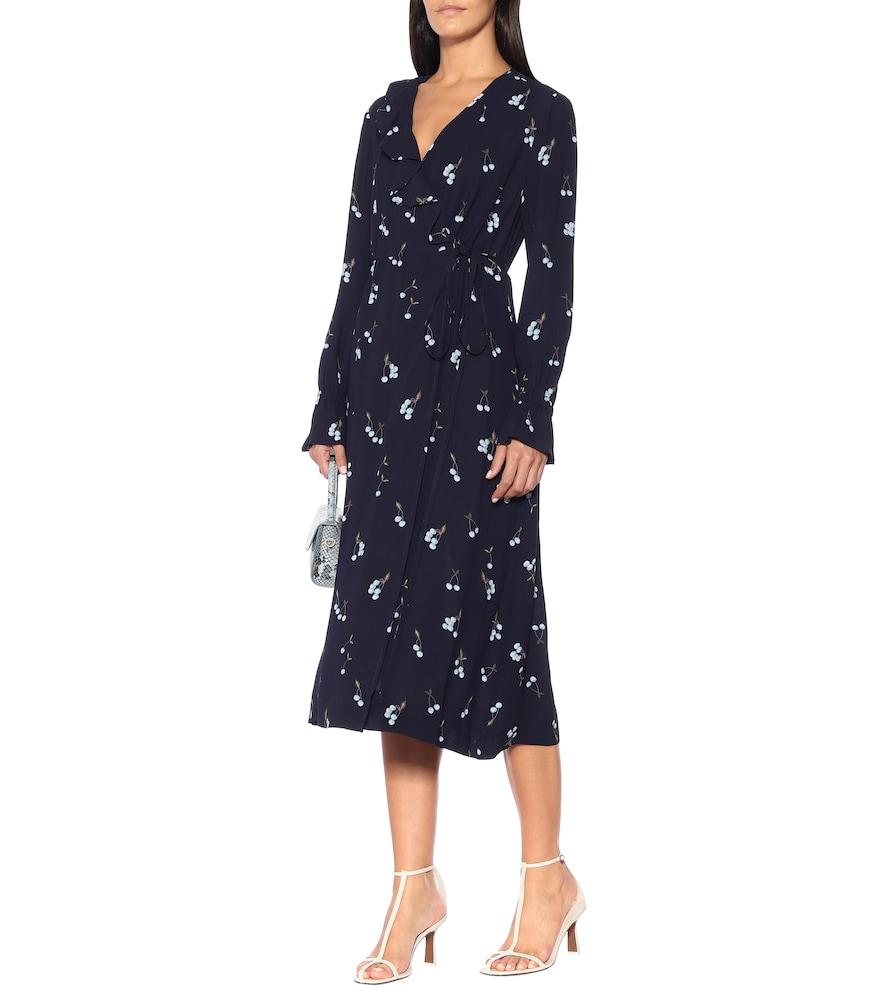 Annamay cherry-print midi dress by Baum und Pferdgarten