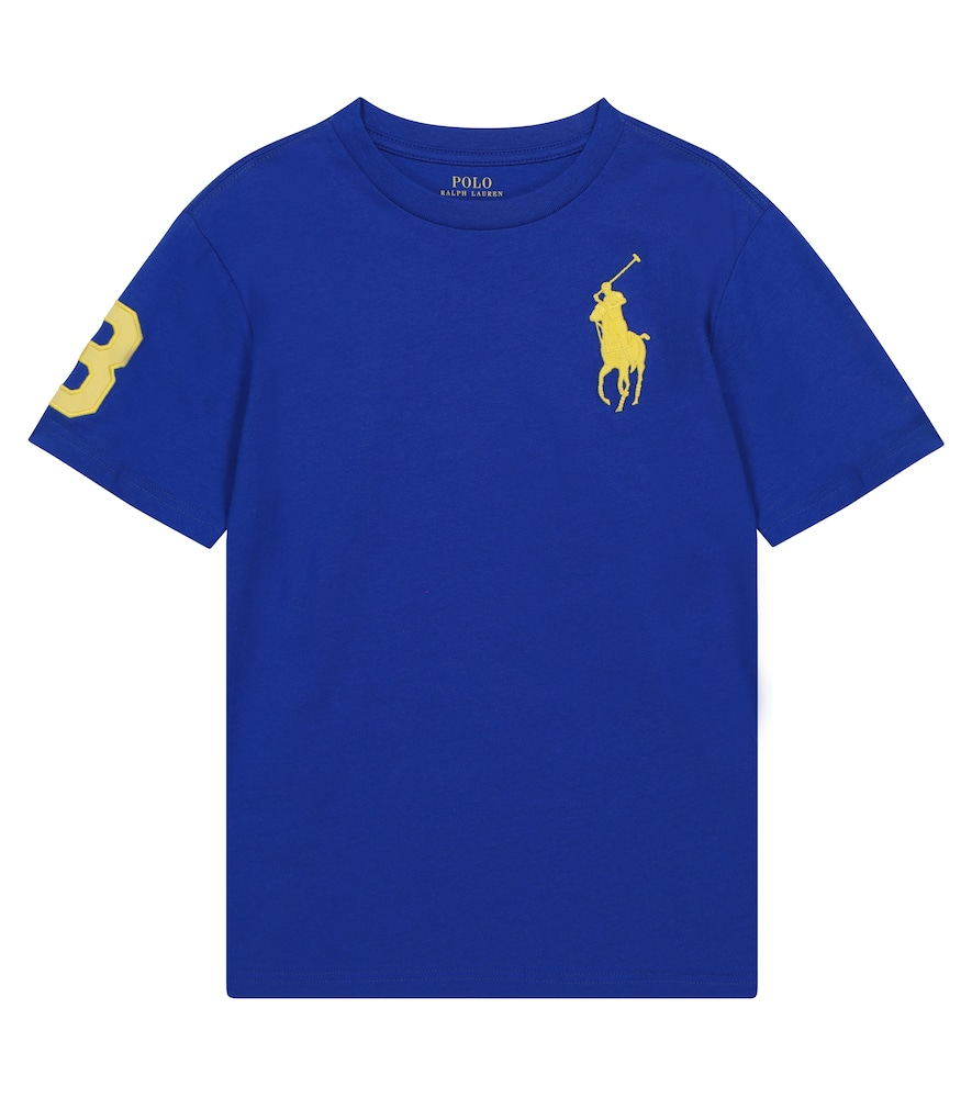 Polo Ralph Lauren Cottons LOGO COTTON CREWNECK T-SHIRT