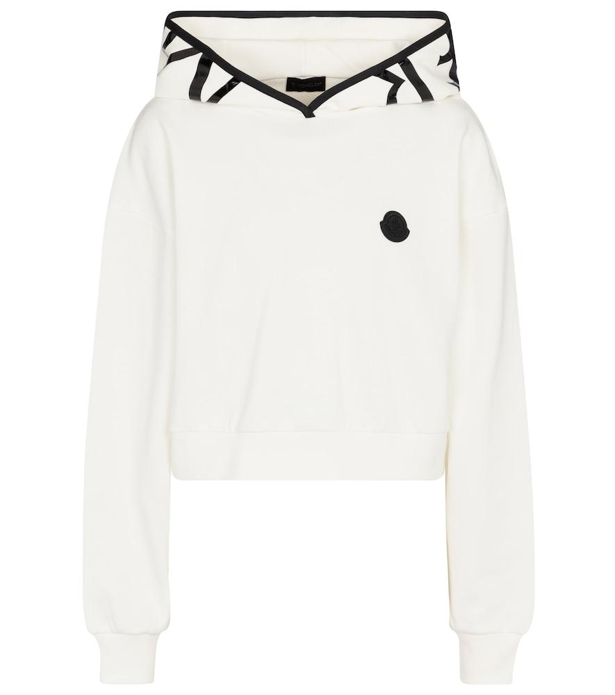 Maglia cotton-blend hoodie
