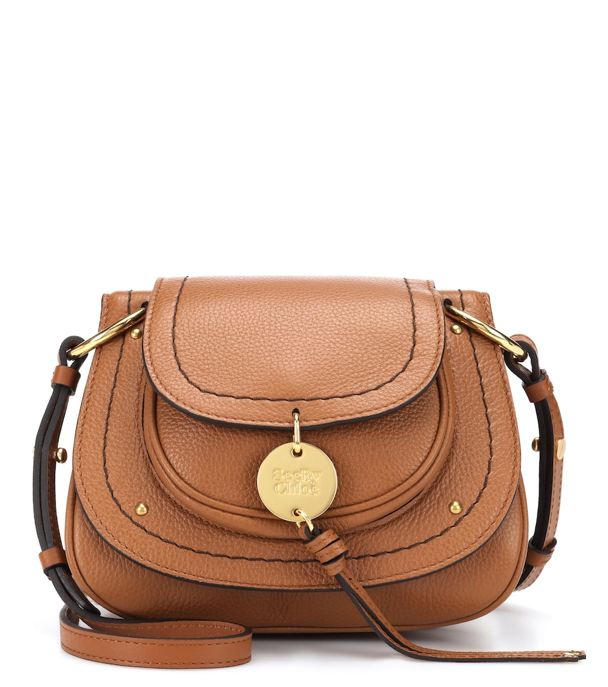 SMALL SUSIE LEATHER SHOULDER BAG