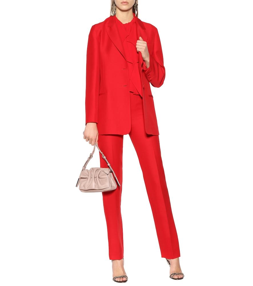 Cady wool and silk blazer by Valentino
