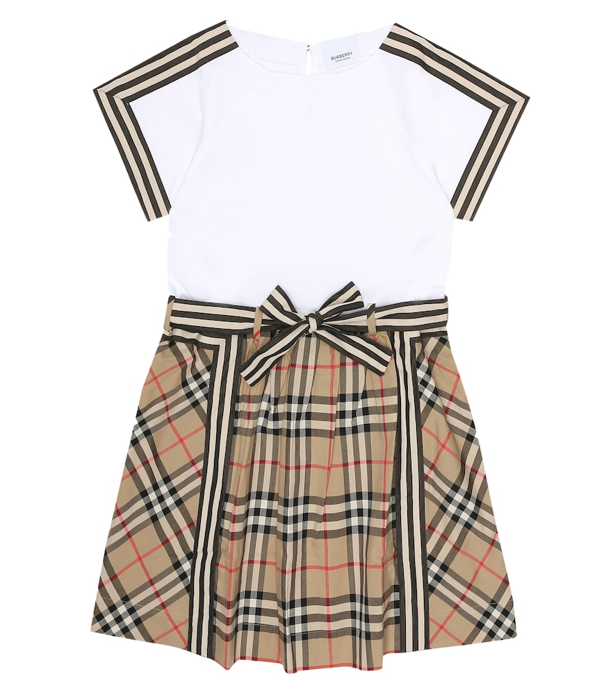 Burberry Girls' Rhonda Dress - Little Kid, Big Kid In Beige