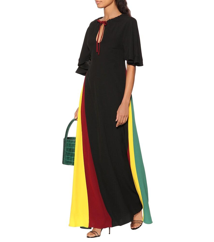 Crêpe satin maxi dress by Staud