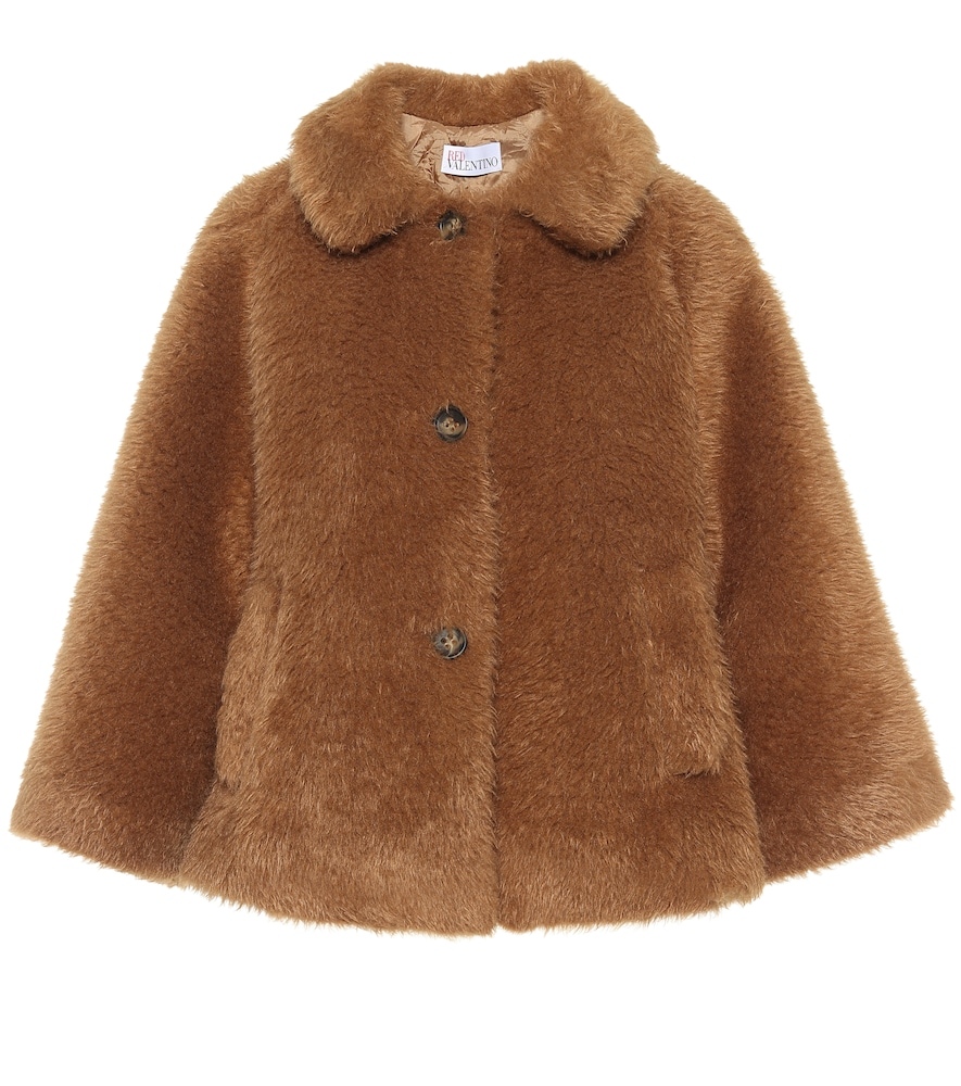 Faux-fur jacket