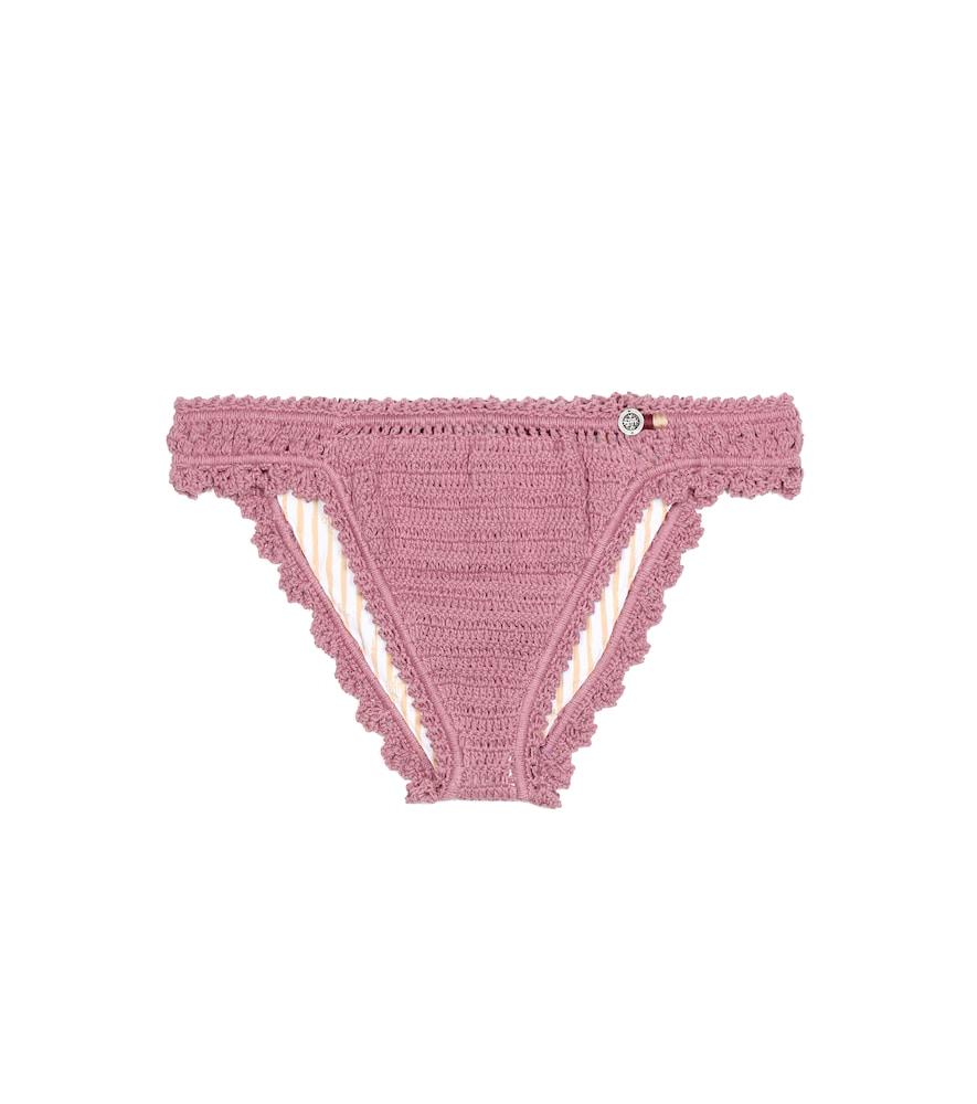 Culotte de bikini en crochet de coton Amira