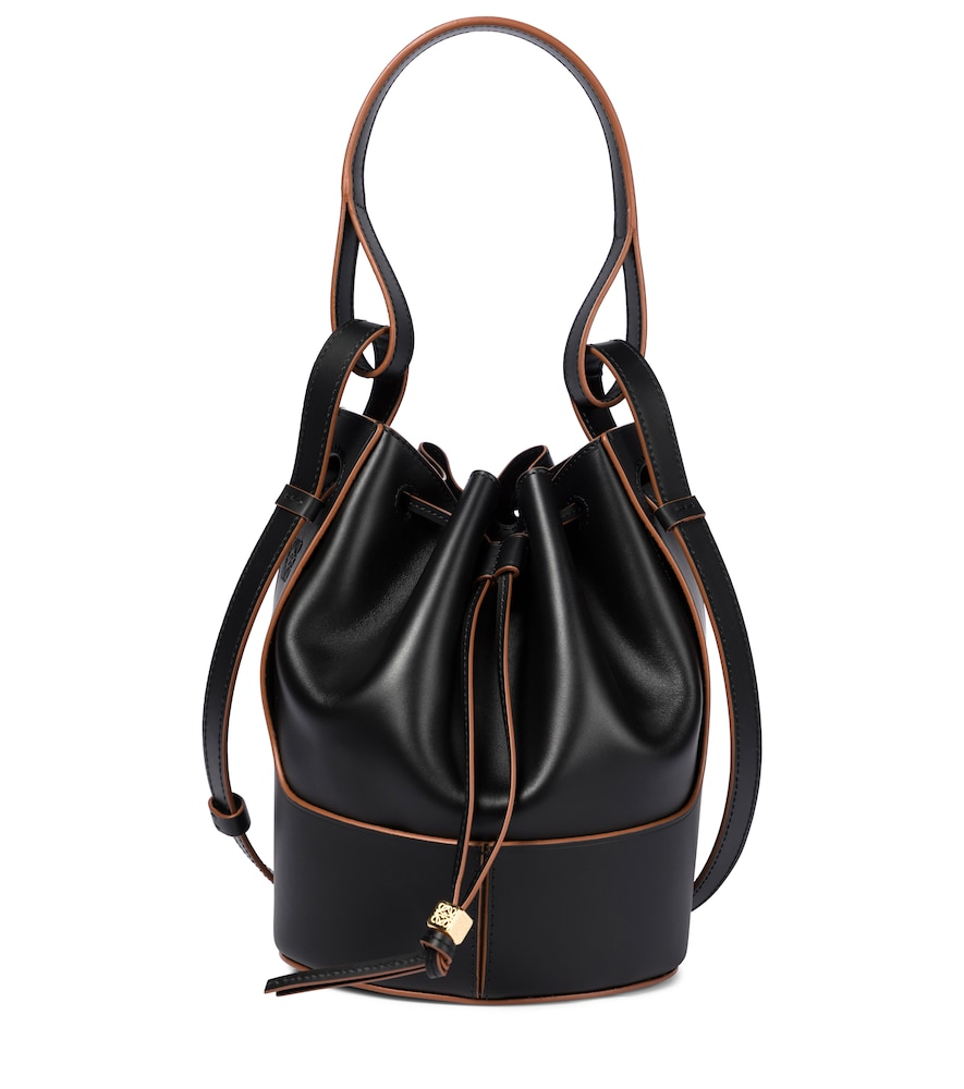 Balloon Small leather shoulder bag