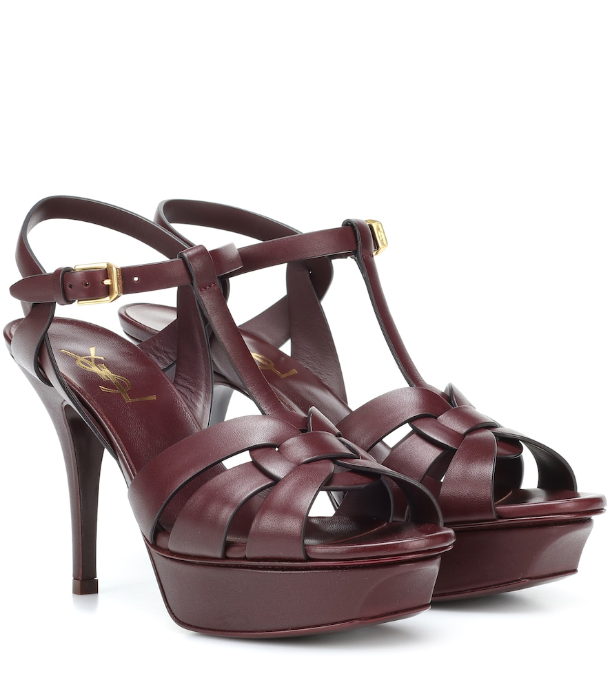 TRIBUTE 75 LEATHER SANDALS