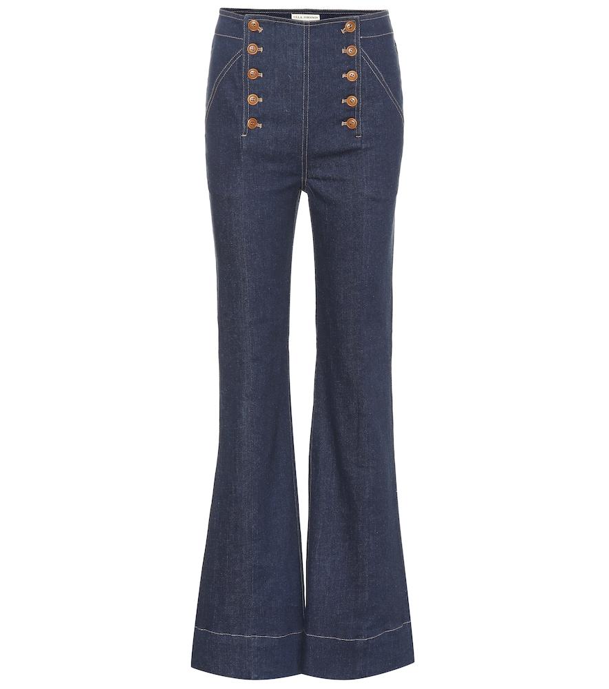 Ashton High-Rise Jeans in Blue