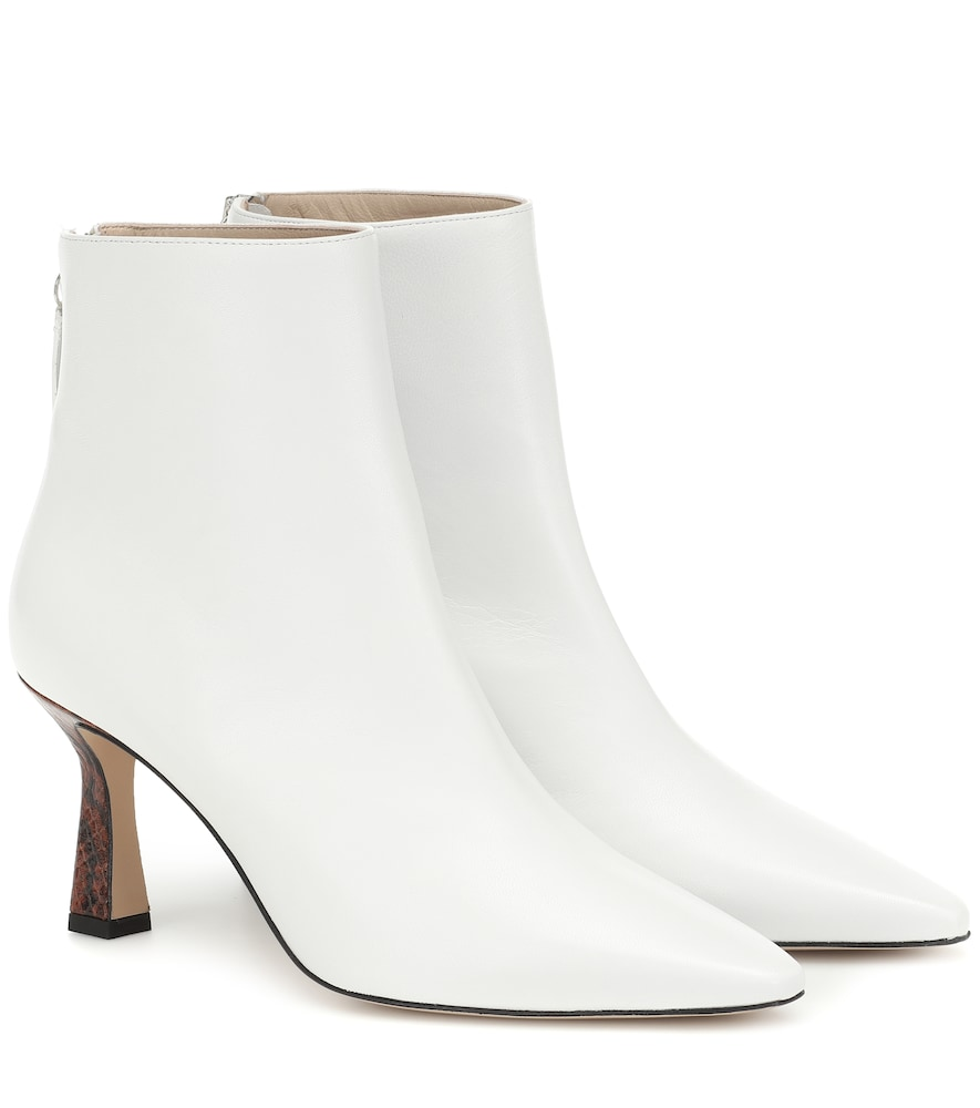WANDLER   Lina Leather Ankle Boots   Goxip
