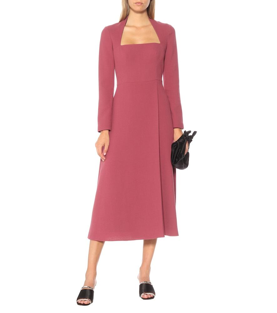 Glenda wool crêpe dress by Emilia Wickstead