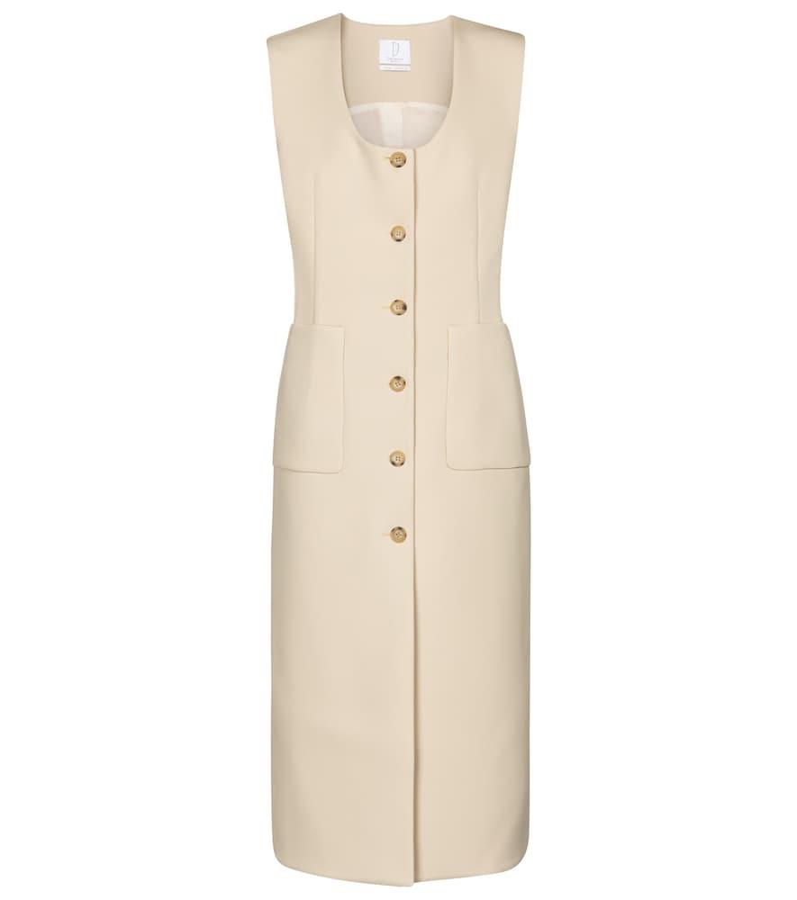 Alicia sleeveless midi dress