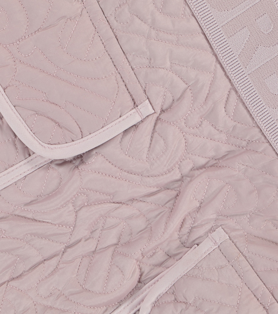 BURBERRY Linings MONOGRAM QUILTED SKIRT