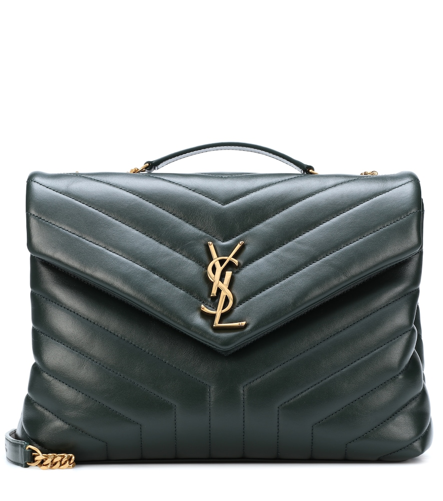 SAINT LAURENT MEDIUM LOULOU MONOGRAM SHOULDER BAG