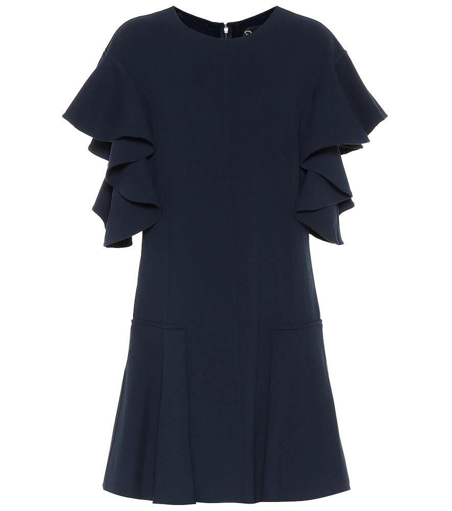 Robe en laine mélangée - Oscar de la Renta - Modalova