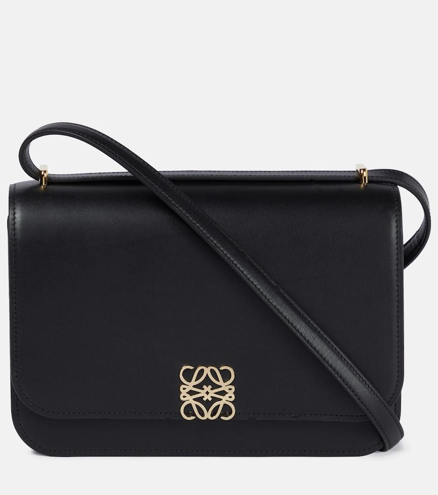 Goya leather shoulder bag