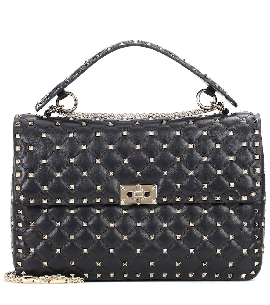 Valentino Garavani Rockstud Spike Large leather shoulder bag