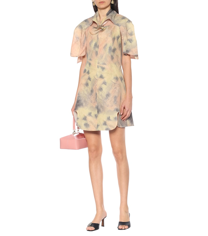 Bora Bora tie-dye minidress by Ellery